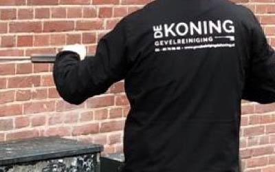 Graffiti verwijdren - Gevelreiniging de Koning